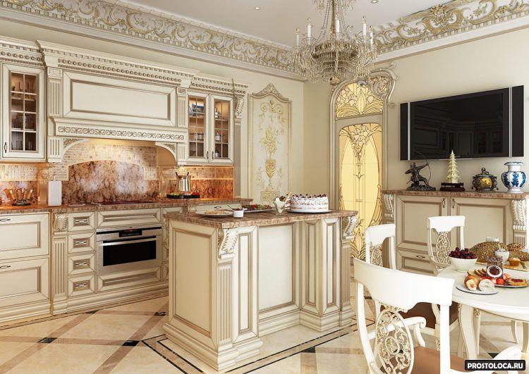 кухня в классическом стиле3