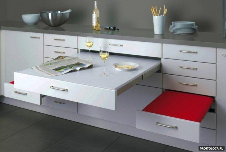 необычные ящики для кухни