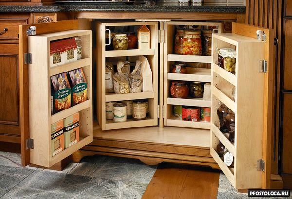 удобные шкафы для кухни 2