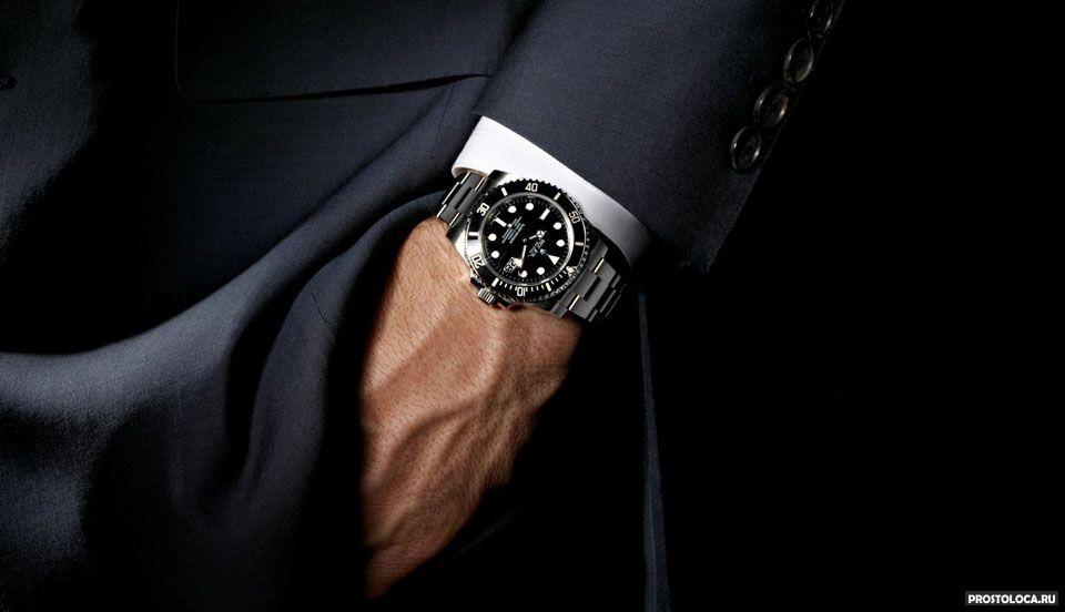 виды наручных мужских часов