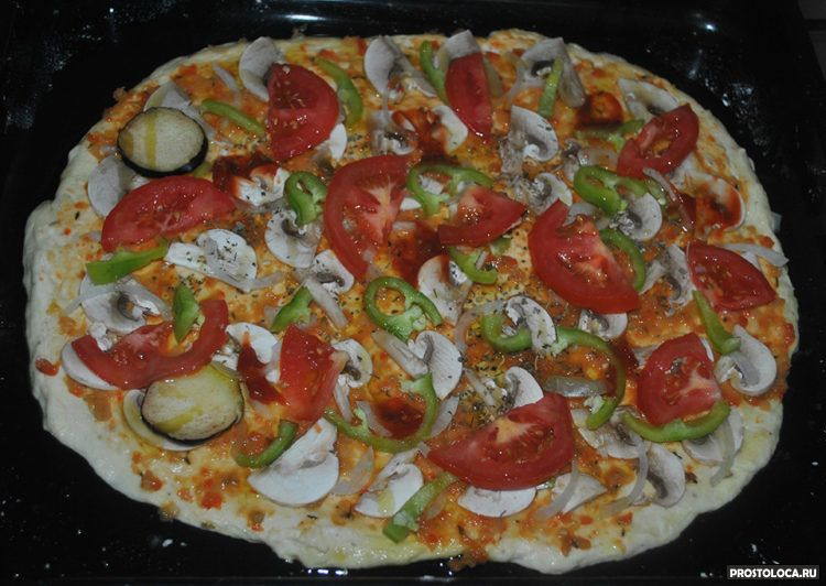итальянская пицца 14