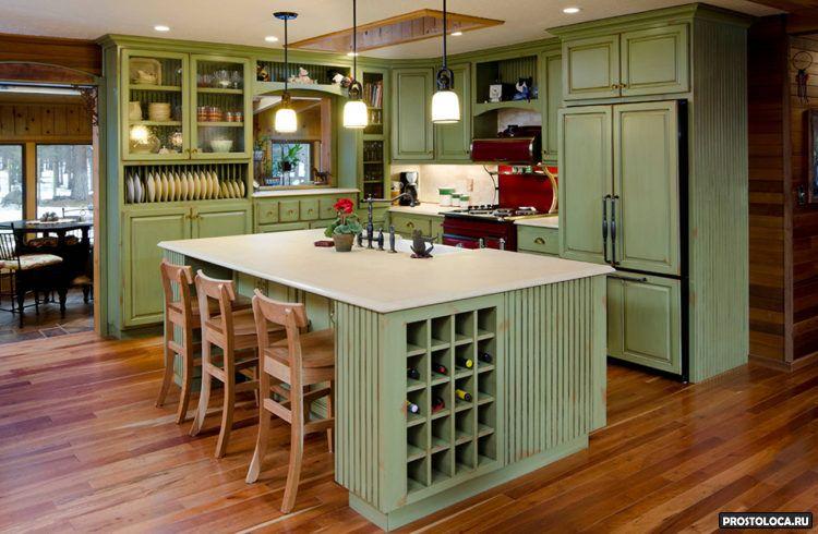 кухня с островом 15