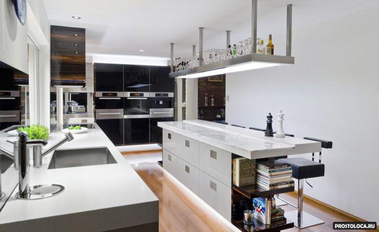 кухня с островом 3