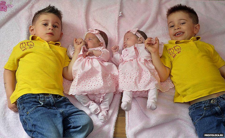 Почему рождаются двойняшки или близнецы