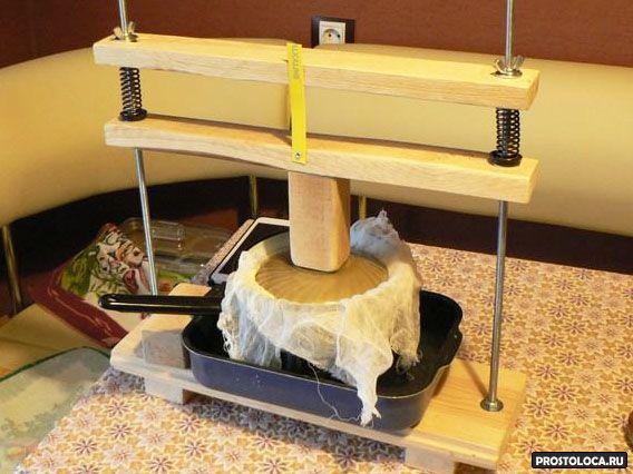 Пресс для сыра сделать